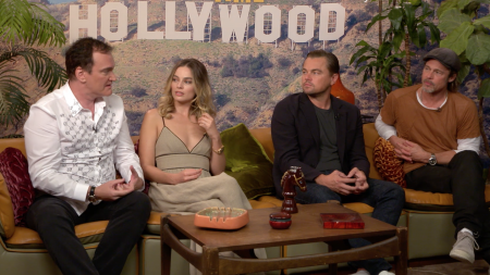 Once Upon a Time in Hollywood, Leonardo DiCaprio, Brad Pitt, Margot Robbie, Quentin Tarantino, movies, in theaters, lifeminute, lifeminute.tv