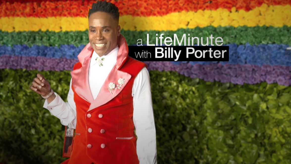 A LifeMinute with Billy Porter