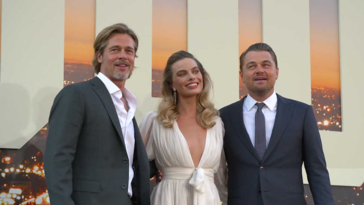 Leonardo DiCaprio, Brad Pitt, Margot Robbie, Once Upon a Time in Hollywood Premiere