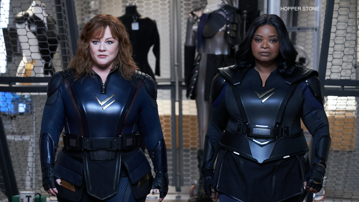 Unlikely Superhero Duo Melissa McCarthy and Octavia Spencer Talk Taking on Their Superpowers in Thunder Force