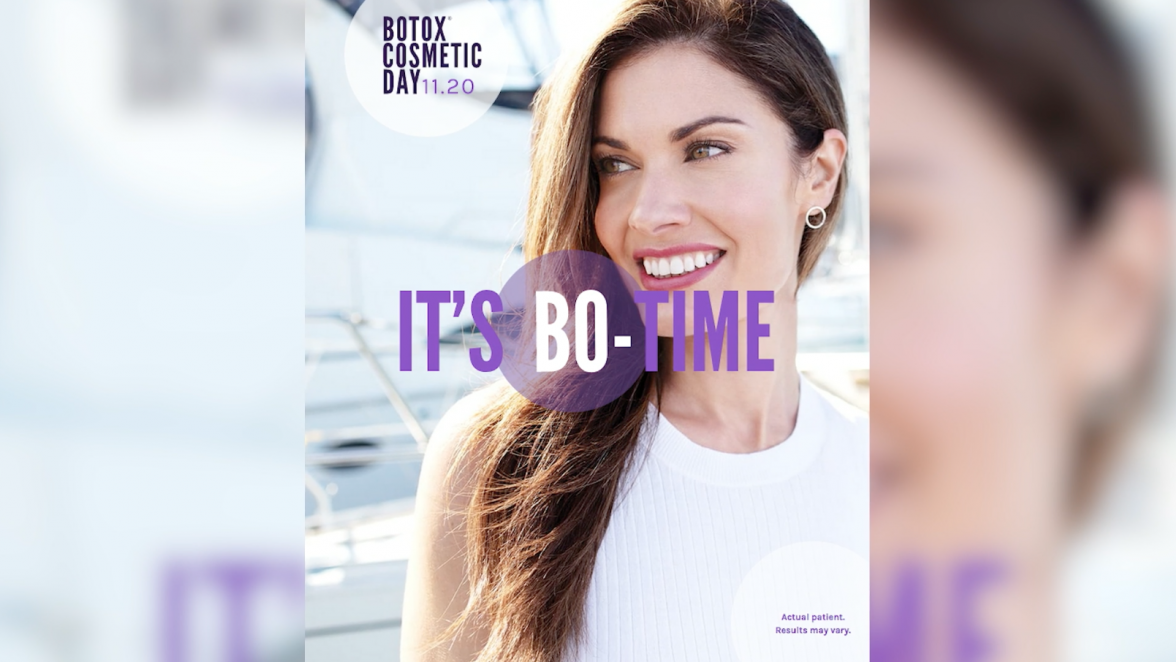 Botox Cosmetic, botox, Allergan, Botox Cosmetic Day, BOTOX Cosmetic onabotulinumtoxinA injection, FDA-approved botox, glabellar lines, forehead lines, crow's feet, lifeminute, lifeminute.tv