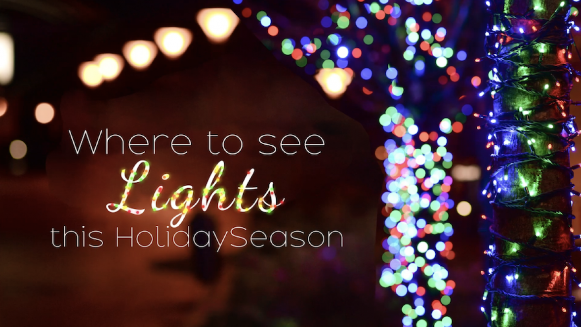 Where to See Lights This Holiday Season