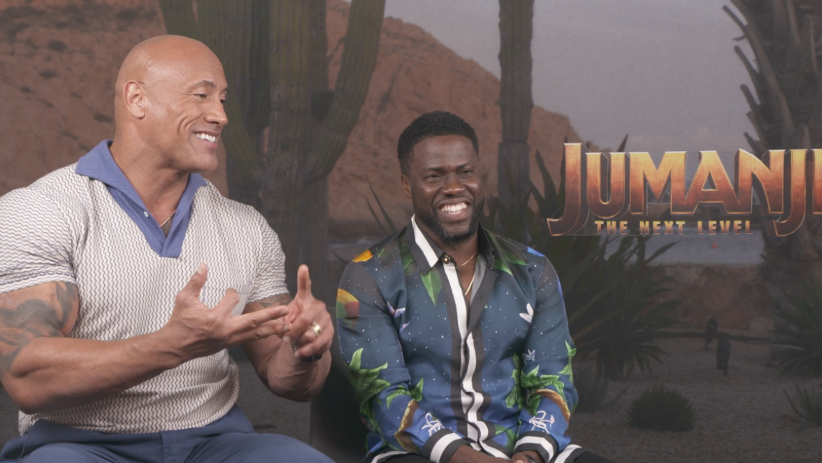 Jumanji: The Next Level, Dwayne Johnson, Kevin Hart, Jack Black, Nick Jonas, Karen Gillan, Danny DeVito, Awkwafina, Danny Glover, Jumanji, movies, new movie, The Rock, LifeMinute, Lifeminute.tv