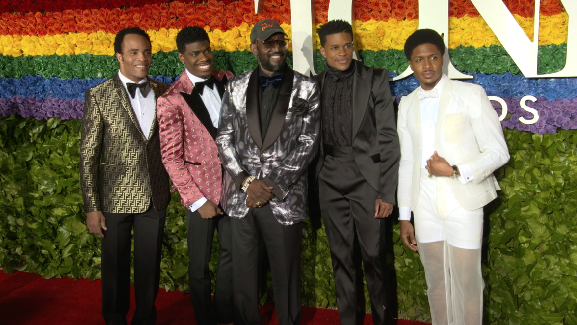 The Temptations, Otis Williams, The Tony Awards, the best choreography, Broadway, Sergio Trujillo, lifeminute, lifeminute.tv