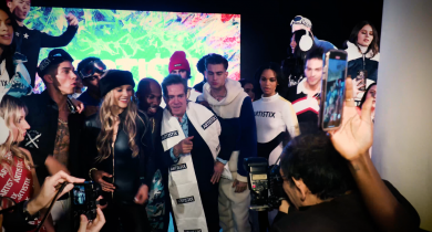 Artistix, nyfw, fashion, Andy Hilfiger, artistix fashion, new york fashion week, Fall/Winter 2020, Ronnie DeVoe, Maino, Amara La Negra, streetwear, skiwear, lifeminute, lifeminute.tv