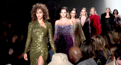fashion, fashion trends, nyfw, new york fashion week, fall 2020, fall 2020 trends, Alice + Olivia, Stacey Bendet, Noon by Noor, Artistix, Andy Hilfiger, Cynthia Rowley, Phillip Lim, Bibhu Mohapatra, Tadashi Shoji, Pamella Roland, RaisaVanessa, Lifeminute, Lifeminute.tv
