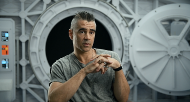 Colin Farrell and Lily-Rose Depp on Exploring the Nature of Humans in New Movie Voyagers