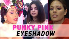 Hot Winter Beauty Trend Punky Pink Eyeshadow