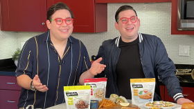 Food Network s Potash Twins Launch Plant-Based Double-Take Challenge and Share Recipes and Tips