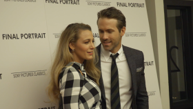 Ryan Reynolds Blake Lively attend Stanley Tuccis Final Portrait Movie Screening in NYC