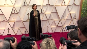 Oscars, Oscars2020, fashion, Kristen Wiig, Penelope Cruz, Margot Robbie, Natalie Portman, Scarlett Johansson, Sandra Oh, gowns, evening wear, lifeminute, lifeminute.tv