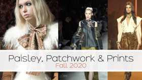 paisley, patchwork and print for fall 2020