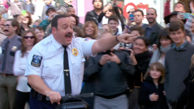 The Cast of Paul Blart Mall Cop 2 at World Premiere