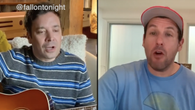 "Celeb QuaranTUNES, Jimmy Fallon and Adam Sandler, ""Don't Touch Grandma"",  Neil Diamond, John Mayer,   ""You Are Still You"", Bon Jovi, ""Do What You Can"", Quarantine Song, Charlie Puth, Quarantine, lifeminute, lifeminute.tv"